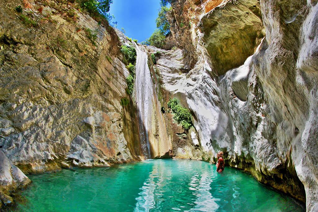 nidri waterfalls - ionianheaven.gr